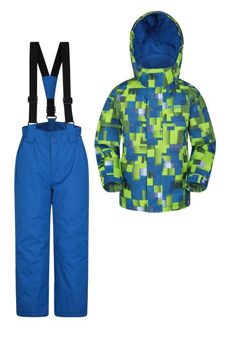 Kids Ski Jacket and Pant Set | Mountain Warehouse
