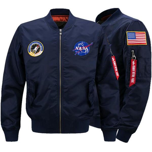 Military Style Jackets For Men Bomber Jacket Windbreak Autumn .