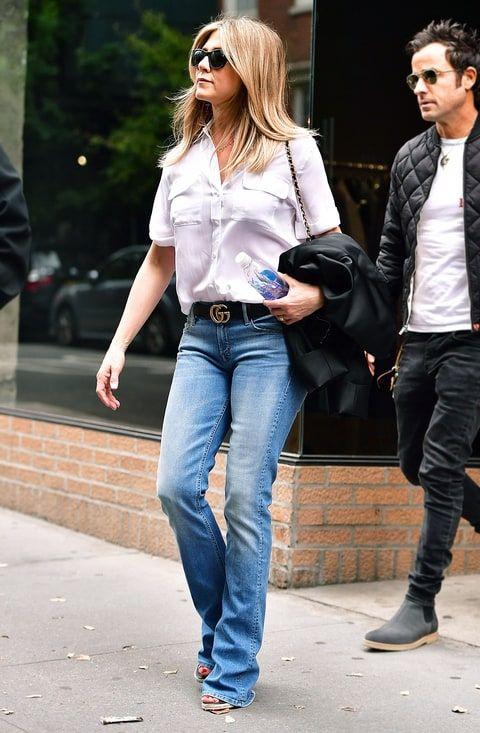 Jennifer Aniston Street Style | Jennifer anniston style, Jennifer .