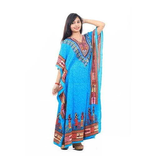 Casual Wear Cotton Long Kaftans, Rs 105 /piece, Addfash | ID .