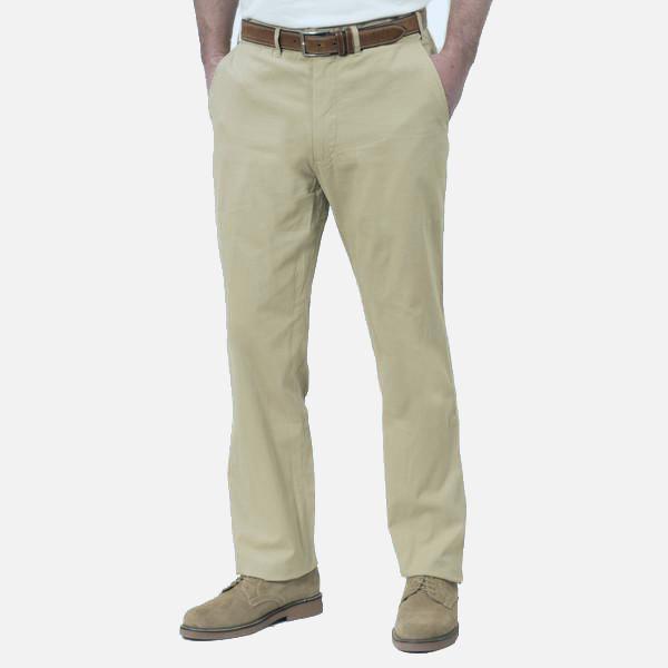 Nantucket Reds Collection™ Men's Plain Front Pants - Khaki .
