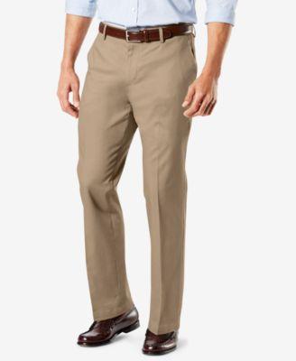 Dockers Signature Lux Cotton Stretch Khaki Pants Collection .
