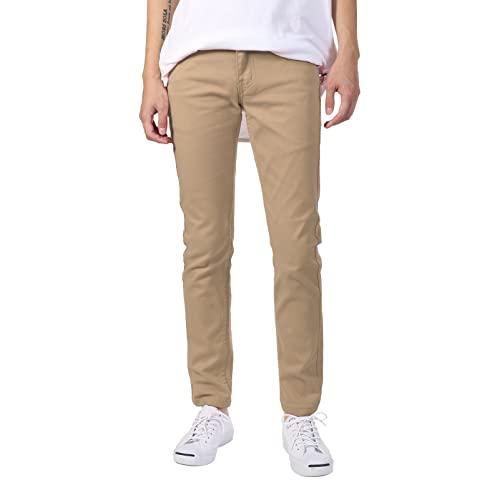 Men's Skinny Khaki Pants: Amazon.c