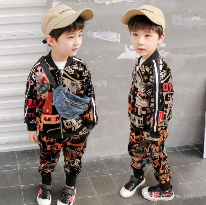 2020 Spring Kids Designer Clothes Boys Clothing Sets Boys .