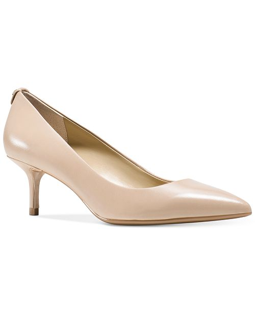 Michael Kors MK Flex Kitten Heel Pumps & Reviews - Heels & Pumps .