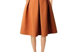 Women's Knee Length Skirt: Amazon.c