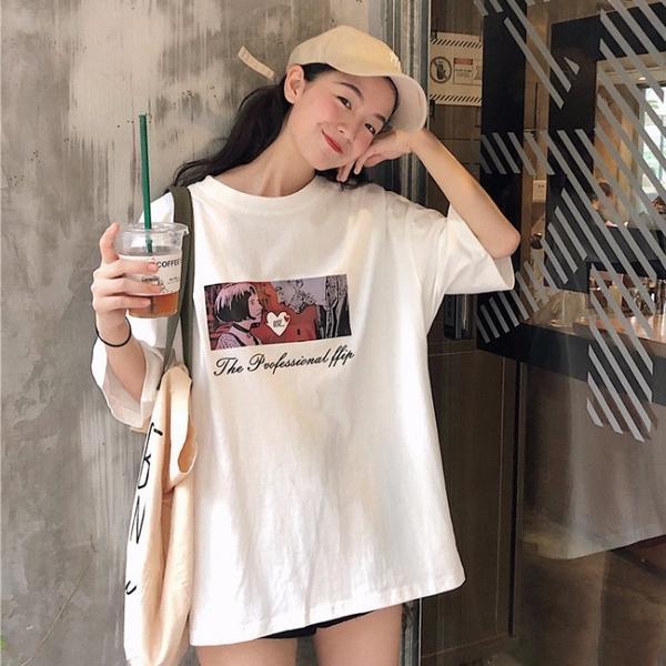 Summer Woman Tee Shirt Korean Style Clothing Ulzzang Harajuku .