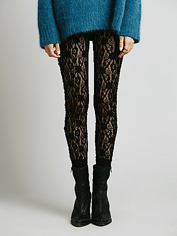 "Free People Leggings ""Lazy Lace"" F670L791 