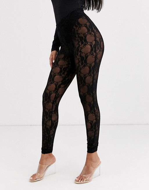 ASOS DESIGN lace legging | AS