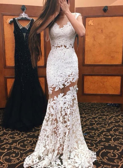General Plus Trumpet/Mermaid Lace Prom Dresses - | Save Up To 60 .