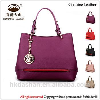 OEM Genuine leather women purses handbags ladies bags online .