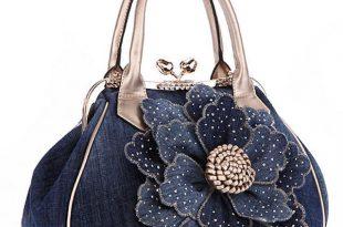 FLYING BIRDS Designer Women Handbag Vintage Flower Women's Tote .