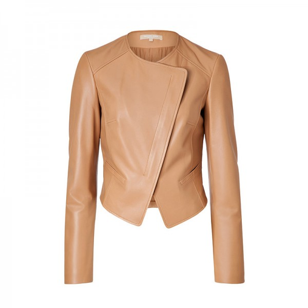 LADIES LEATHER JACKET | Kenny and Gita Tail