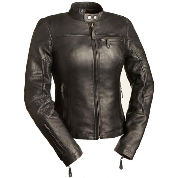 Ladies Leather Girl Power Jacket - First Classi