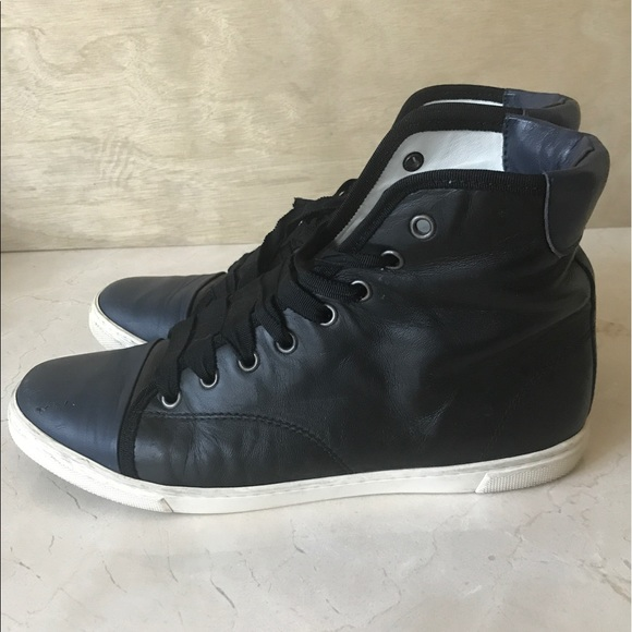 Lanvin Shoes | Womens High Top Sneakers | Poshma