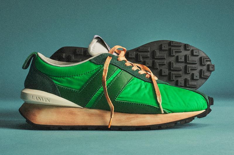 Lanvin Bumper Sneaker Release Date, Info & Photos | HYPEBEA