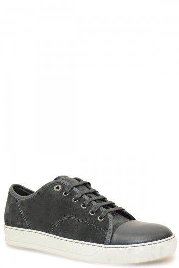 Lanvin Grey Low Top Nappa Sneaker, , | Lanvin shoes, Mens designer .
