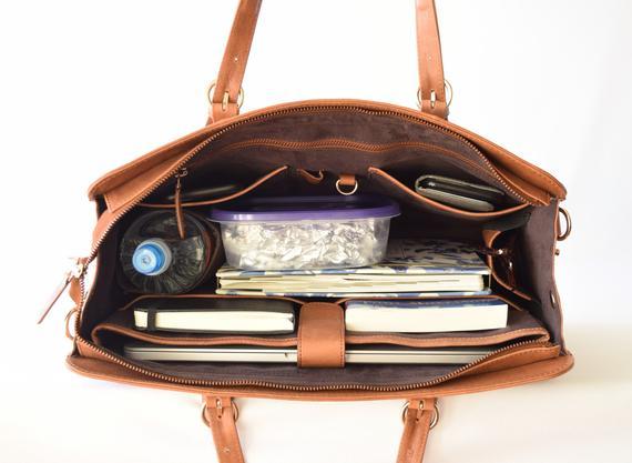 Laptop bags women Leather laptop bag 15 inch Macbook | Et