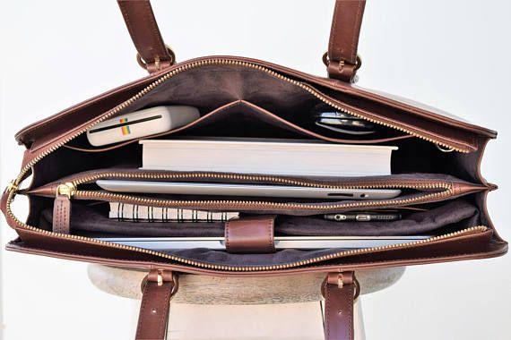 Laptop bags for women - Leather laptop bag - Laptop bag women .