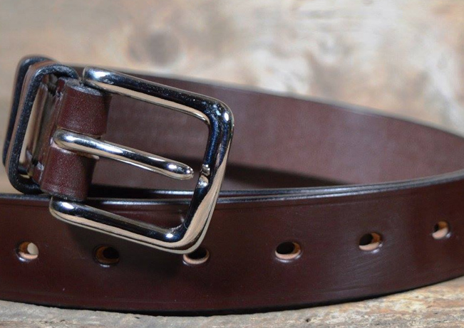 Tim Hardy Handmade English Bridle Leather Belts and Walle
