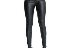 Leather Jeans: Amazon.c