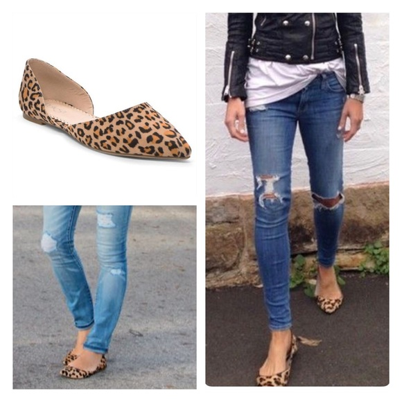 Shoes | Soon Vegan Leopard Flats Red Flats Black Flats | Poshma