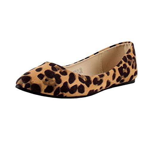 Leopard Flats: Amazon.c