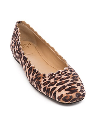 Crown & Ivy™ Venice Leopard Flats | be