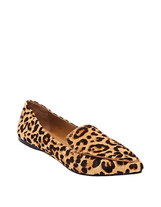 Steve Madden Feather Leopard Flats | be