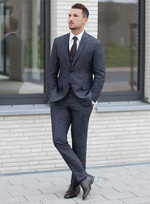 Italian Linen Suit [Italian Linen Suit] - $225 : StudioSuits: Made .