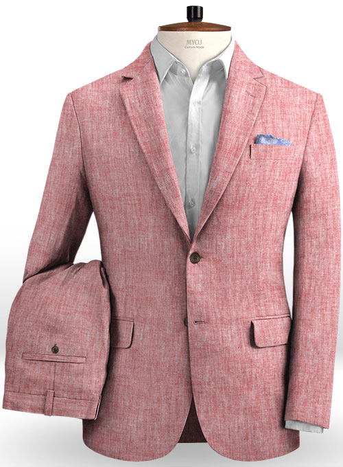 Solbiati Rose Linen Suit : MakeYourOwnJeans®: Made To Measure .