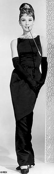 Black Givenchy dress of Audrey Hepburn - Wikiped