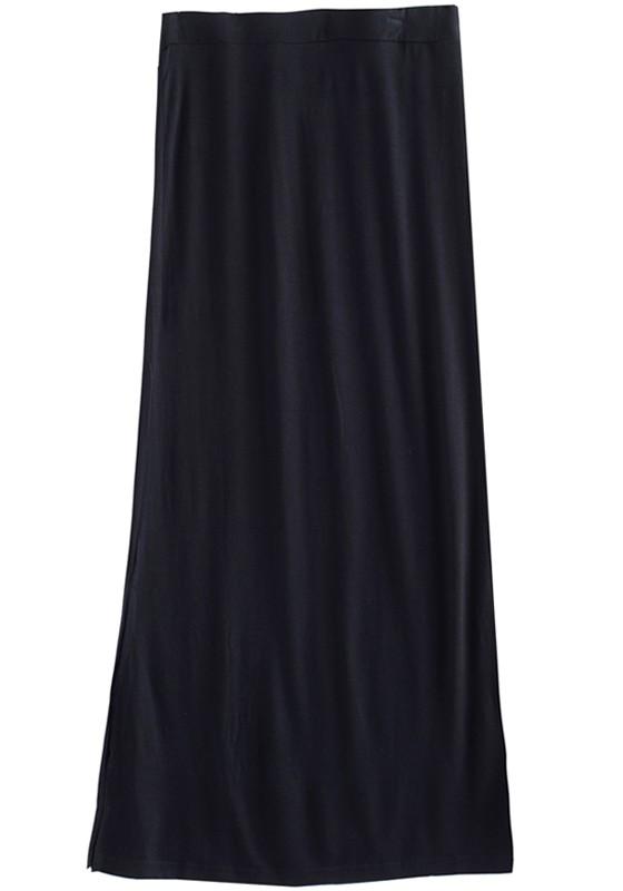 Long Black Cotton Skirt - Best Photos Skirt and Bag Gitesdardennes.O
