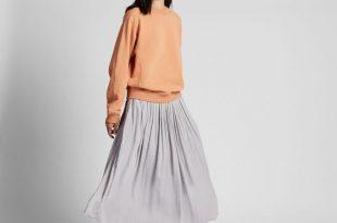 WOMEN Gather Long Skirt - Skirts - BOTTOMS - WOMEN | UNIQ