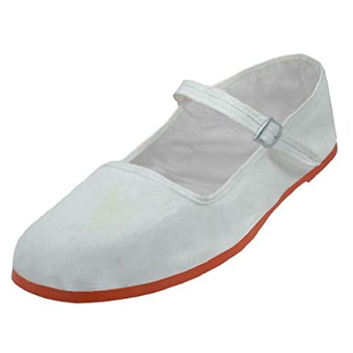 White Mary Janes: Amazon.c
