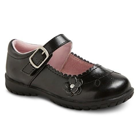 Toddler Girls' Allison Mary Jane Shoes - Black : Targ