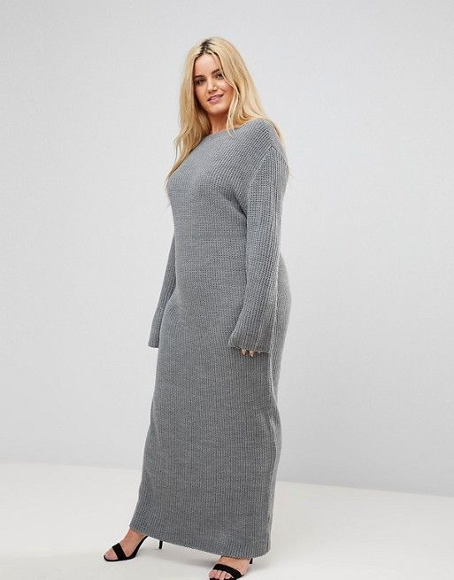 Alice and You Sweater Maxi Dress | Plus size sweater dress .