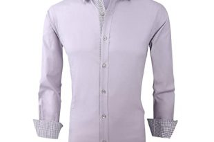 Mens Designer Dress Shirts: Amazon.c