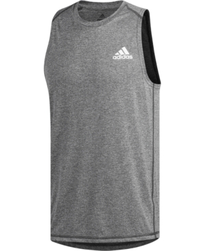 Adidas Originals Adidas Men's Freelift Tank Top In Dgh | ModeSe