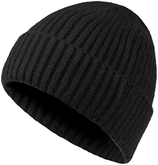 Chalier Winter Hats for Men Wool Knit Slouchy Beanie Hats Warm .