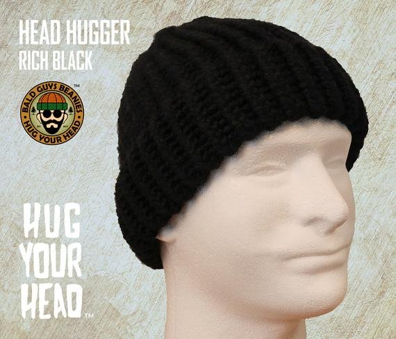 Small to XL Mens Beanies Mens BLACK Beanie Mens Black Knit | Et