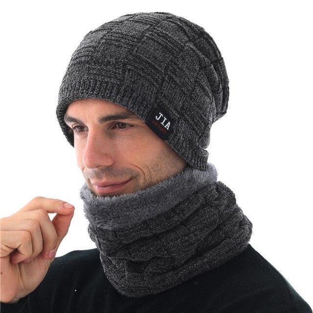 Xthree Men's Hat Winter Men's Beanies Skullies Chenille Knitted .