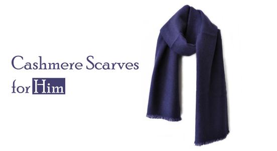 Luxurious Men's Cashmere Scarves - Cashmere Man