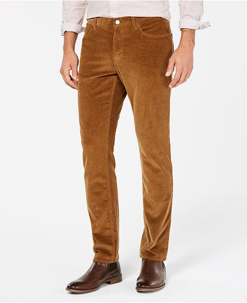 Michael Kors Michael Kors Men's Slim-Fit Corduroy Pants & Reviews .