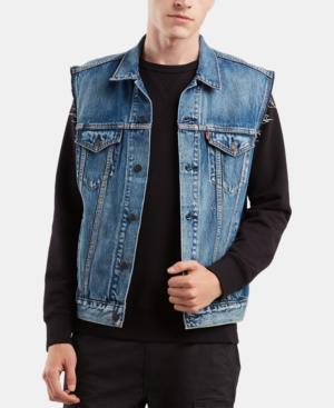 Levi's Men's Denim Vest In Jayden | ModeSe