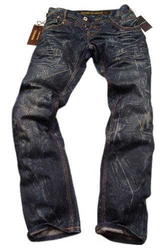 Mens Designer Clothes | EMPORIO ARMANI Mens Crinkled Jeans #