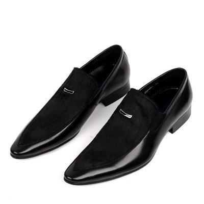 Mens Black Dress Shoes | Mens Slip on Dress Sho