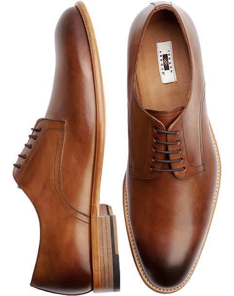Baywood Brown Lace Up Dress Shoes - Men's Dress Shoes - Joseph .
