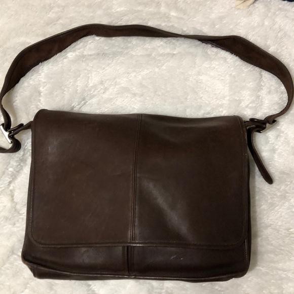 Coach Bags | Mens Leather Messenger Bag | Poshma