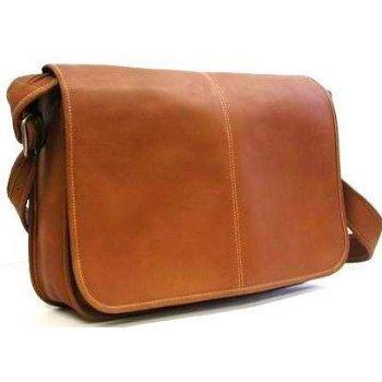 Men's Leather Messenger Bag | LoveToKn
